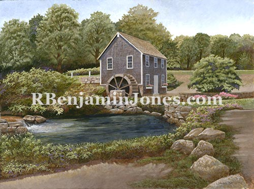 Grist Mill, Brewsters, Cape Cod